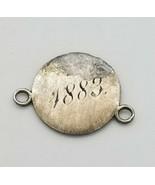 "Dated 1883 ""Mama"" Liberty Dime Love Token - $64.35"