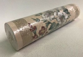 Brewster Wallcovering Border Pre Pasted Vinyl Flowers 5 Yards 7 Inches Wide - $7.87