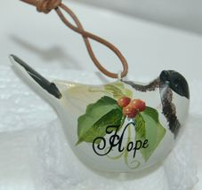 Painted Bird 37300 Joy Hope Love 3 Set Christmas Ornaments image 4