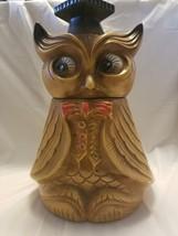 vintage California Pottery wise owl cookie jar - $20.57