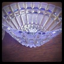 Brilliant Cut Glass cruet 3 piece Set - $48.00
