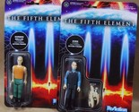 Fifth Element Korben Dallas & Zorg ReAction 3 3/4-Inch Retro Action Figures lot