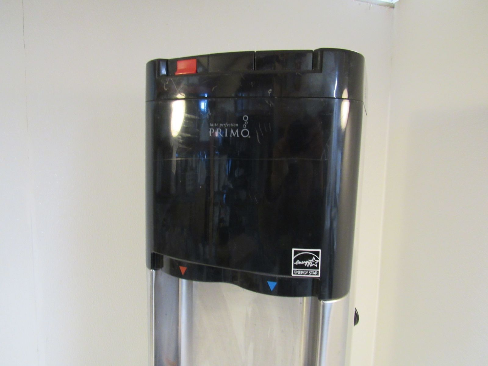 Primo Water Cooler & Heater Dispenser Top Load Stainless/Black 900139A