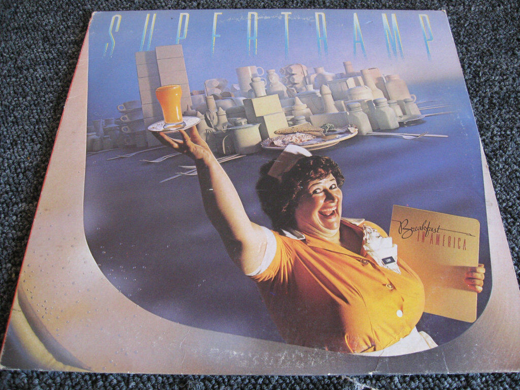 Supertramp Breakfast In America A&M SP-3708 Stereo Vinyl Record LP