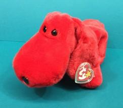 "Ty Beanie Buddies Rover Red Puppy Dog 12"" Plush Stuffed Animal NWT Tag 1998 - $12.95"