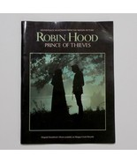 Robin Hood Prince Of Thieves Sheet Music Book Movie Soundtrack 1991 - $39.59