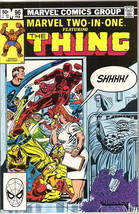 Marvel Two-In-One Comic Book #96 The Thing and The X-Men, Marvel 1983 NE... - $4.99