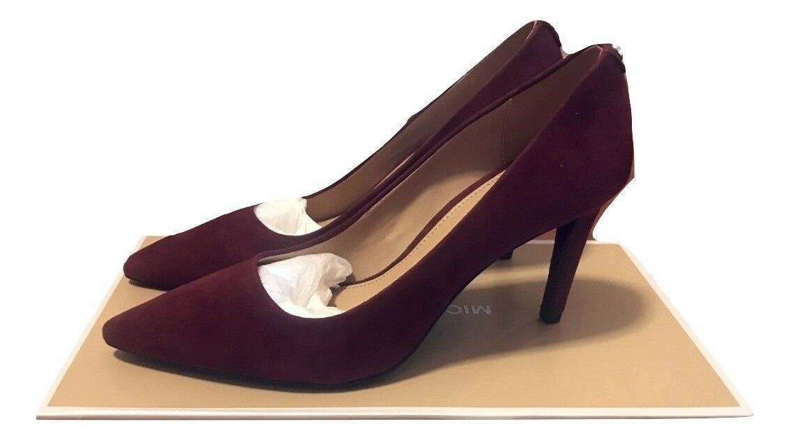 MICHAEL Michael Kors Dorothy Flex Pump Oxblood Shoes Size 5.5