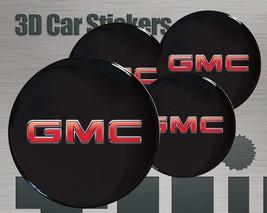 GMC New car stickers / Wheel stickers GMC Center Cap Logo Badge Wheel Trims Rims - $9.00
