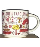 Starbucks 2018 South Carolina Been There Collection Coffee Mug NEW IN BOX - $34.11