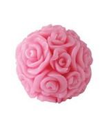 BioFresh ROSE OF BULGARIA Glycerin Soap Rose Ball 40g With Natural Rose Oil - $2.47