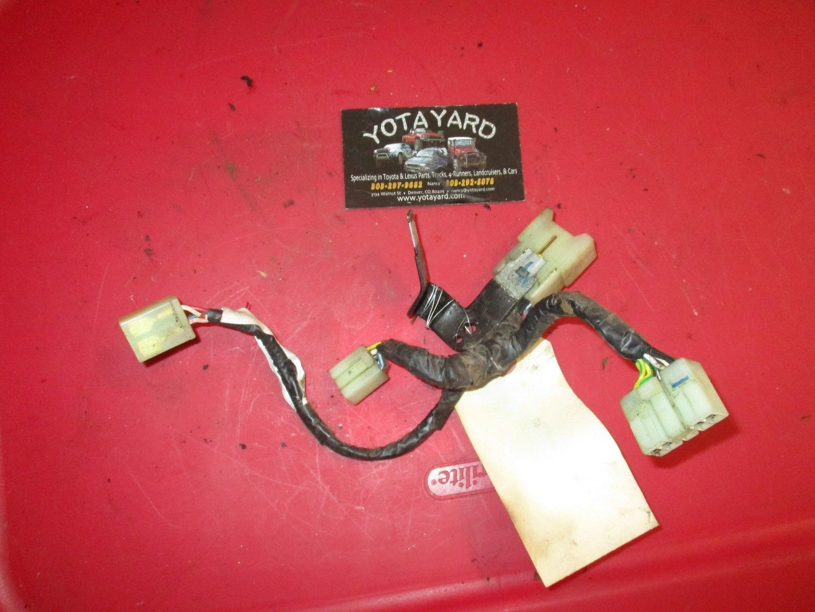 90 95 Toyota 4runner Sr5 Rear Heater Box And 12 Similar Items Wiring Harness S L1600