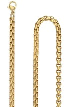 Men's Stainless Steel 4.5mm Rolo Link Chain Necklace, 24'', oon010ji24 - £19.03 GBP