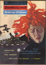The Magazine of Fantasy and Science Fiction Digest Vol 10 #3, March 1956... - $15.43
