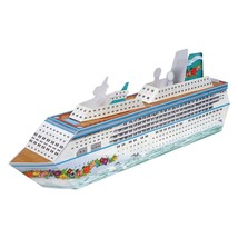 "Cruise Ship Centerpiece, 13-1/4"", Multicolor - Beistle 54436 - $9.45"