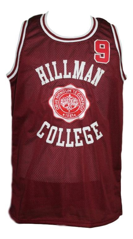A different world dwayne wayne hillman college custom basketball jersey maroon   1