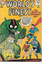 World's Finest Comic Book #112, DC Comics 1960 VERY GOOD+ - $30.88