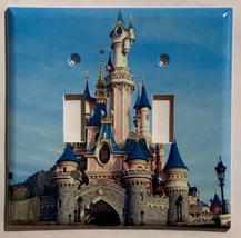 Paris Disney princess castle Light Switch Outlet wall Cover Plate Home Decor image 2