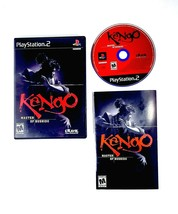 Kengo: Master of Bushido (Playstation 2 PS2 ) Black Label - Complete with Manual - $9.45
