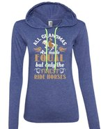 All Grandmas Are Made Equal But Only The Finest Ride Horses T Shirt, Spo... - $37.99+