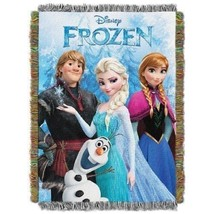 The Northwest Company Frozen Fun from Disney's Frozen Tapestry Throw bla... - €25,33 EUR