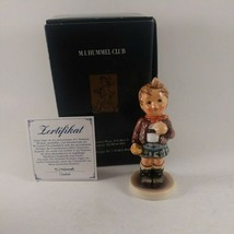 "Exclusive Edition~ HUMMEL #554  ""Cheeky Fellow""  TMK7 ~ 4 1/8"" Tall W/bo... - $31.67"