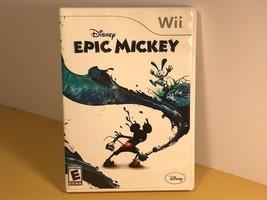 Disney Epic Mickey (Nintendo Wii, 2010) mouse walt - $14.85
