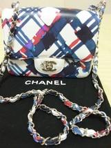 CHANEL AIRLINES Bag Lambskin Classic Flap Chain Pouch Handbag - $4,505.00