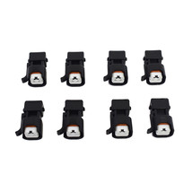 A-Team Performance EV1 To EV6 LS Fuel Injector Adapter LS2 LS3 LSX LT1 (8 Pack)
