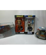 BORDERLANDS PSYCHO AND LILITH ACTION FIGURES + T SHIRT & DUCK TOY - FREE... - $70.13