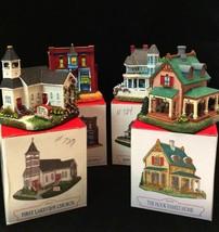 Liberty Falls Collection Miniatures Four Buildings AH189 AH212 AH211 AH207 - $18.80