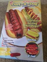 Curl-A-Dog Hot Dog Spiral Slicer AS SEEN ON TV Gourmet Tasting Hot Dogs ... - $47.43