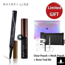 MAYBELLINE TATTOO BROW GEL TINT + TATTOO BROW INK PEN + Presents - $16.07+