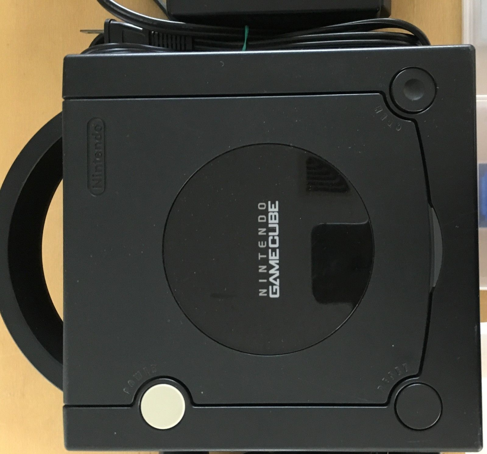 Nintendo Gamecube Black System console lot Japan Import