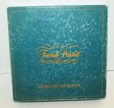 TRIVIAL PURSUIT ORIGINAL MASTER BOARD GAME NO 7 GENIUS EDITION VINTAGE 1... - $4.64