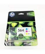 HP 564 Cyan Magenta Yellow Ink Cartridges Combo Pack  - $18.99