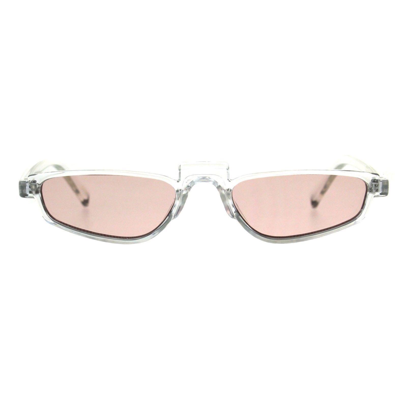 Vintage Fashion Sunglasses Unisex Skinny Frame Unique Pop Up Bridge