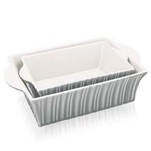 Bakeware Set, Krokori Rectangular Baking Pan Ceramic Glaze Baking Dish f... - $49.98
