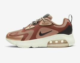 Nike Women's Air Max 200 Shoes  NEW AUTHENTIC  Red Bronze CT1185-900 - $100.00