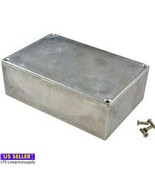 Brand New Gray Die Cast Aluminum Enclosure 5.71 Inch X 3.74 Inch X 1.77 ... - $29.60