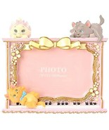 Disney Store Japan Aristocats Marie Photo Frame Photo Stand Toulouse Ber... - $94.05