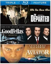 Martin Scorsese Triple Feature (Goodfellas/The Aviator/The Departed) [Blu-ray]