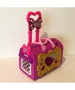 Disney Store Minnie Mouse Pet Carrier Suitcase Style Vet Center Extendin... - $24.99