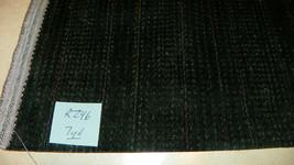 Green Stripe Velvet Upholstery Fabric 1 Yard  R246 - $29.95