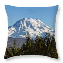 Mount Rainier, Washington, Throw Pillow, fine a... - $41.99 - $69.99