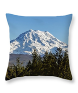 Mount Rainier, Washington, Throw Pillow, fine art, home decor, accent pi... - $41.99+