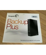 4TB Seagate Backup Plus DESKTOP USB 3.0 External Hard Drive BLACK - $186.46