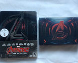 Marvel Avengers: Age Of Ultron Blu-ray 3D+2D Steelbook Gift Set Key chain New
