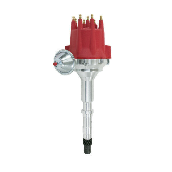 Pro Series R2R Distributor for AMC Jeep V8 Engine, Red Cap
