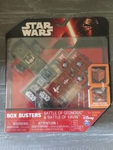 Star Wars Box Busters Battle of Geonosis & Battle of Yavin, 1 set, Disne... - $9.49